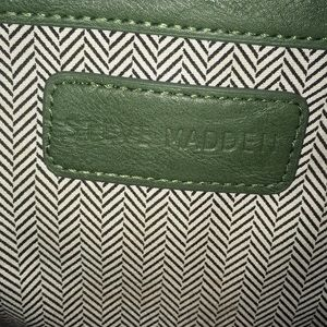 Steve Madden Bags - Steve Madden Olive Green and Gold Tote